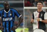 """A.Van Der Meyde: """"R.Lukaku gali lengvai aplenkti C.Ronaldo"""""""