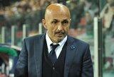 """Apie savo ateitį prabilęs L.Spalletti: """"Nežinau, ar paliksiu """"Inter"""""""