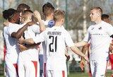 """Lietuvos futbolo A lyga: """"Sūduva"""" namuose užtikrintai susitvarkė su """"Stumbru"""""""