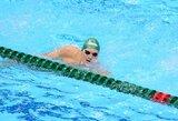 M.Sadauskas pagerino Lietuvos 50 m plaukimo peteliške rekordą