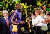 """""""Lakers"""" savininkė: """"LeBronas neužgoš Kobes"""""""