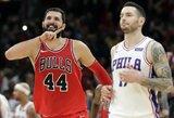 """Solidžiai žaidęs N.Mirotičius vedė """"Bulls"""" į šeštą pergalę paeiliui"""