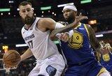 J.Valančiūnas prieš NBA čempionus žaidė nesulaikomai
