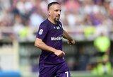 F.Ribery atskleidė, kad prieš persikeldamas į Italiją derėjosi su Anglijos klubais