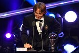 Dar vienas kroato triumfas - L.Modričius išrinktas geriausiu FIFA metų futbolininku