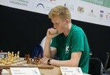 """Šachmatų didmeistriu tapsiantis 17-metis: """"Sustoti nesiruošiu"""""""