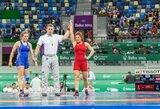 Imtynininkė G.Blekaitytė pralaimėjo Europos žaidynių mažajame finale (komentaras)