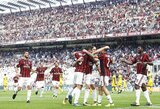 """Italijos """"Serie A"""": dominuojantis """"Napoli"""" ir sunki """"Milan"""" pergalė"""