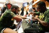 """MMA kovotojas: """"Lytiniai santykiai prieš kovą susilpnina smūgius"""""""