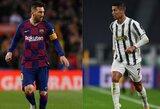 """L.Messi apie C.Ronaldo sveikatą: """"Tikiuosi, jis pasveiks ir sužais prieš """"Barceloną"""""""