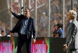 Oficialu: Argentinos rinktinę paliko treneris E.Bauza