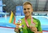 Atvirajame Lietuvos plaukimo čempionate A.Šeleikaitė ir P.Strazdas iškovojo antruosius aukso medalius (+ kiti rezultatai)