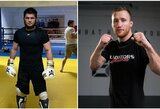 """Oficialu: Ch.Nurmagomedovas ir J.Gaethje kovos """"UFC 255"""" turnyre"""