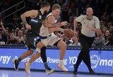 """M.Kuzminsko rekordas ir nesunki """"Knicks"""" pergalė"""