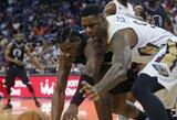 """D.Jordanas monstriškai rinko kamuolius, bet laimėjo """"Pelicans"""""""