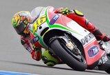 """""""Bridgestone"""" tirs Olandijos motociklų GP lenktynėse kilusias problemas su padangomis"""