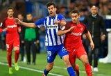 """""""Sevilla"""" rungtynių pabaigoje išplėšė lygiąsias su """"Alaves"""" futbolininkais"""