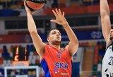 Eurolygos reguliarusis sezonas baigėsi CSKA pergale