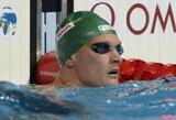 M.Sadauskas plaukimo varžybose Edinburge pateko į dar vieną finalą