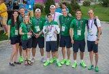 Baku dienoraštis: sportininkų sutiktuvės