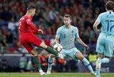 """Su """"Juventus"""" siejamas M.De Ligtas: """"Visuomet norėjau būti toks, kaip C.Ronaldo"""""""