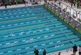 Plaukimo varžybose Vokietijoje G.Stankevičius liko per žingsnį nuo medalio