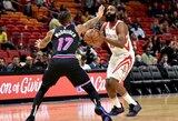 """Rockets"" pergalių serija nutrūko Majamyje"