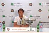 "Kaip niekad arti R.Federerio rekordo atsidūręs R.Nadalis: ""Nesiekiu žūtbūt jį aplenkti"""