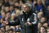 """J.Mourinho: """"Aš apsisprendžiau dėl T.Courtoiso"""""""