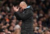 """""""Manchester City"""" žaidėjai įvardijo nesėkmių priežastį – kaltinimai skriejo P.Guardiolai"""