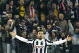 """""""Juventus"""" pratęsime palaužė """"Milan"""" ir pateko į Italijos taurės finalą"""