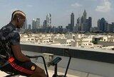 P.Pogba reabilitaciją tęsia saulėtame Dubajuje