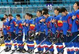 Ledo ritulio rinktinės ketvirtoji varžovė: labiausiai pasaulio čempionate nustebinusi Korėjos rinktinė