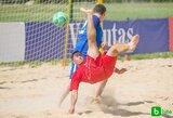 Startavo Lietuvos paplūdimio futbolo čempionatas