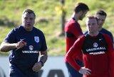"""S.Allardyce'as: """"Kas aš toks, kad sakyčiau W.Rooney kur jis turėtų žaisti?"""""""