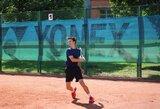 M.Vasiliauskas turnyrą Izraelyje baigė aštuntfinalyje