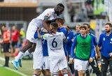 """Triuškinančią pergalę iškovojusi """"Schalke"""" priartėjo prie pirmojo Vokietijos penketo"""