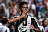 """""""Juventus"""" viceprezidentas P.Nedvedas pripažino, jog sulaukė pasiūlymų už P.Dybalą"""