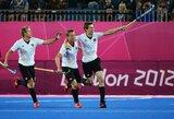 Olimpiniai žolės riedulio čempionai pergale pradėjo titulo ginimą Londone