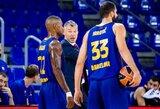 """Š.Jasikevičius: """"Visada malonu laimėti prieš tokią komandą kaip CSKA"""""""