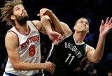 """Niujorko derbyje """"Nets"""" nutraukė gėdingą seriją"""