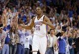 Naudingiausi kovo mėnesio NBA žaidėjai - K.Durantas bei P.Pierce'as
