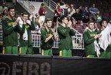 """Lyg """"Rockets"""" komanda tritaškius svaidę jauniai iškovojo penktąją vietą"""