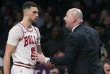 """""""Bulls"""" treneris įtaria, kad A.Karnišovas gali jį atleisti"""