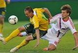 Lietuvos futbolo rinktinė FIFA reitinge nukrito į 90 poziciją