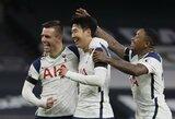 """5 kartus mažiau smūgių atlikęs """"Tottenham"""" nugalėjo """"Man City"""" futbolininkus"""