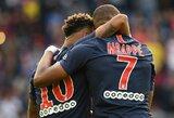 PSG komandos žvaigždžių pelnyti įvarčiai leido klubui iškovoti dar vieną užtikrintą pergalę Prancūzijos čempionate