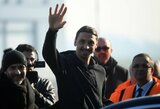 Pamatykite: Z.Ibrahimovičius atvyko į Milaną atlikti medicininę patikrą