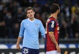 """M.Klose dėl traumos """"Lazio"""" klubui nepadės apie mėnesį"""