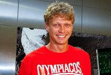 """M.Kuzminskas prisistatė """"Olympiacos"""" komandai"""